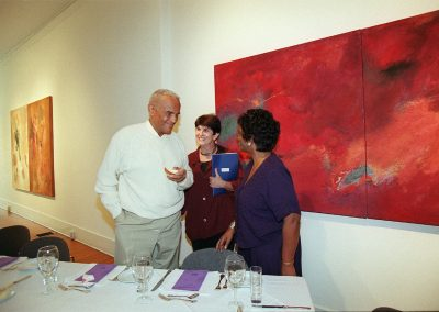 Dean Jacqueline J. Royster, Harry Belafonte with Amy Horowitz