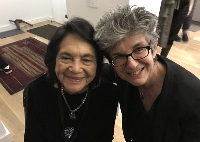 Amy with Delores Huerta