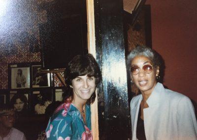 Amy with June Jordan