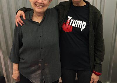 Amy with Mary Farmer