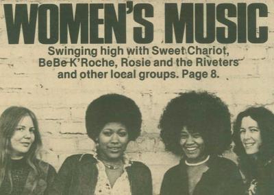 Explosion of feminist music