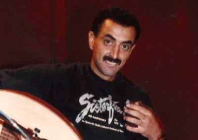 Palestinian musician and director of the Sabreen Center, Said Murad